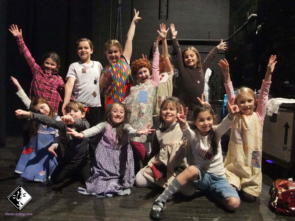 بهترین آموزشگاه بازیگری کودک در نارمک