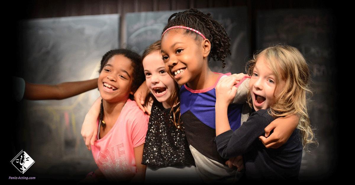 افزایش اعتماد به نفس کودکان در آموزشگاه بازیگری
