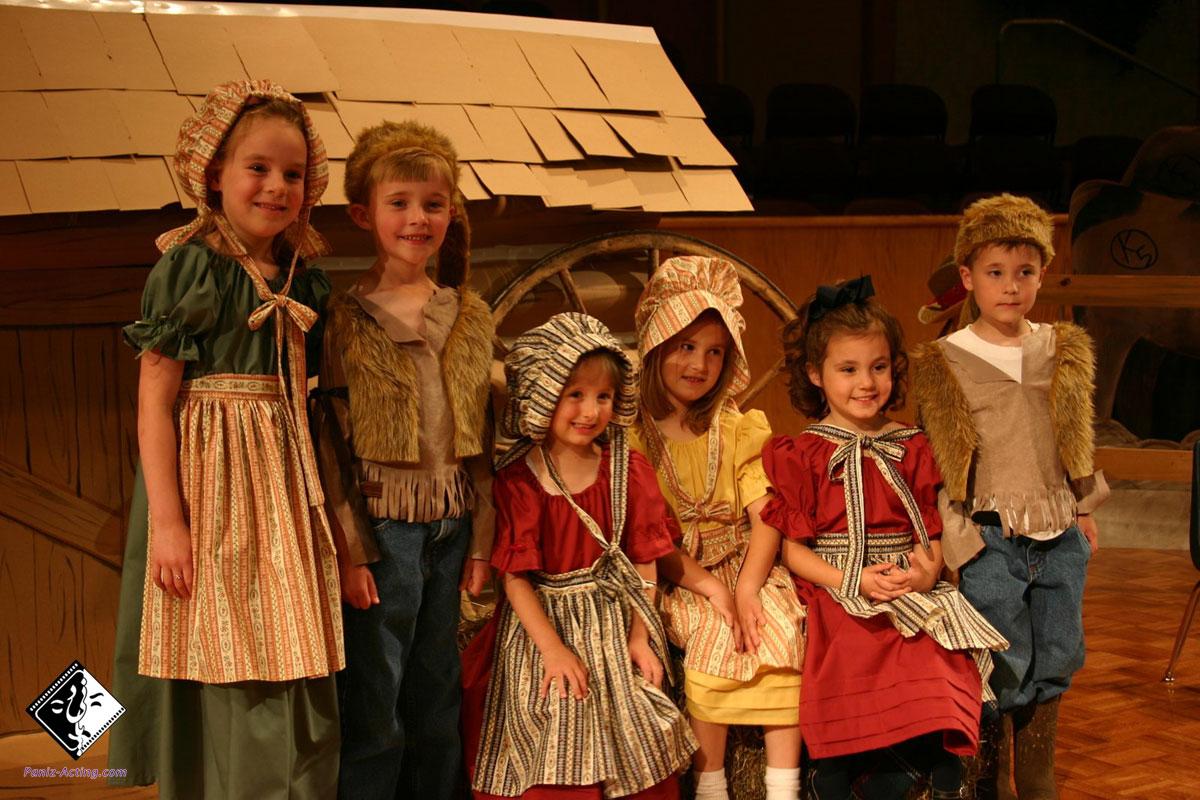 آموزش تئاتر کودک